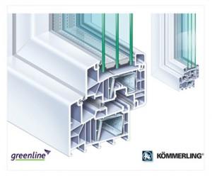 Asalto PVC PROFIL KOMMERLING 88 MM PLUS